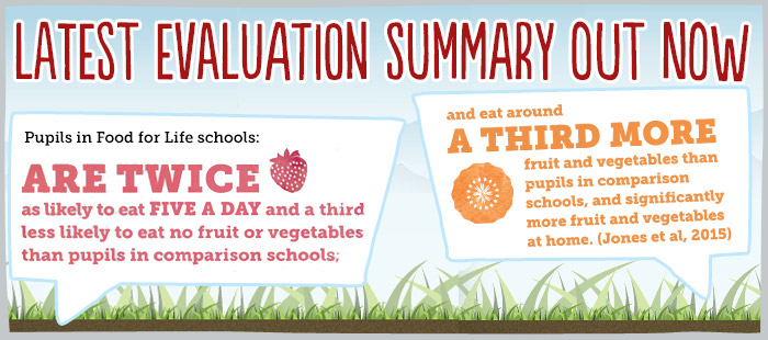 Latest Food for Life evaluation summary out now