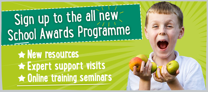 Sign up to the all new School Awards Programme