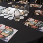 Laid table at Food for Life Conference