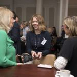 Delegates networking at Food for Life conference