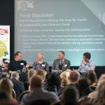 Panel discussion at Food for Life conference