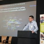 James Cashmore speaking at Food for Life Conference