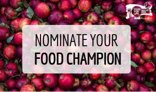 Nominate your Food Champion
