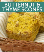 Butternut and Thyme Scones